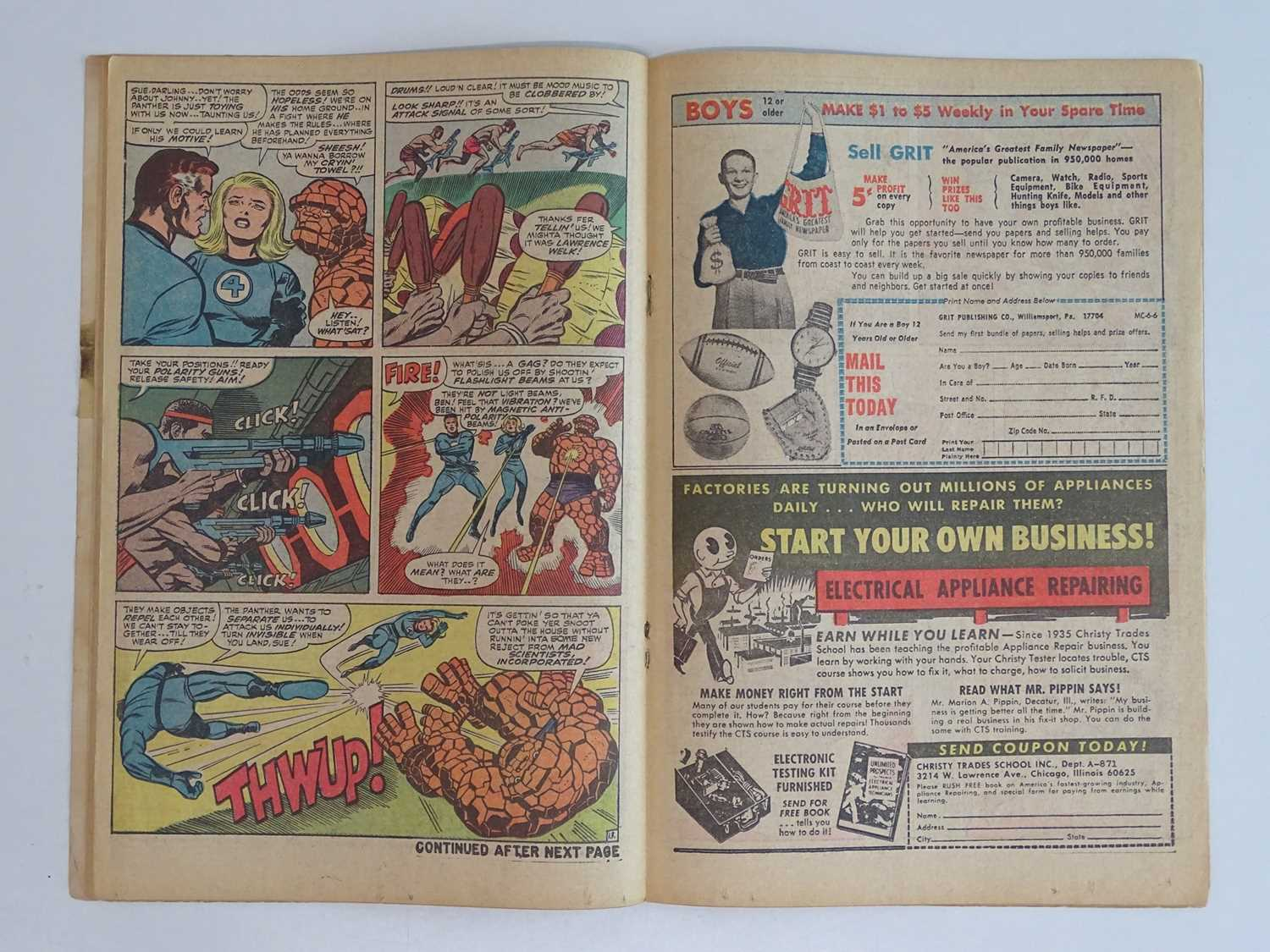 FANTASTIC FOUR #52 (1966 - MARVEL - UK Price Variant) - First appearance of Black Panther (one of - Image 6 of 10