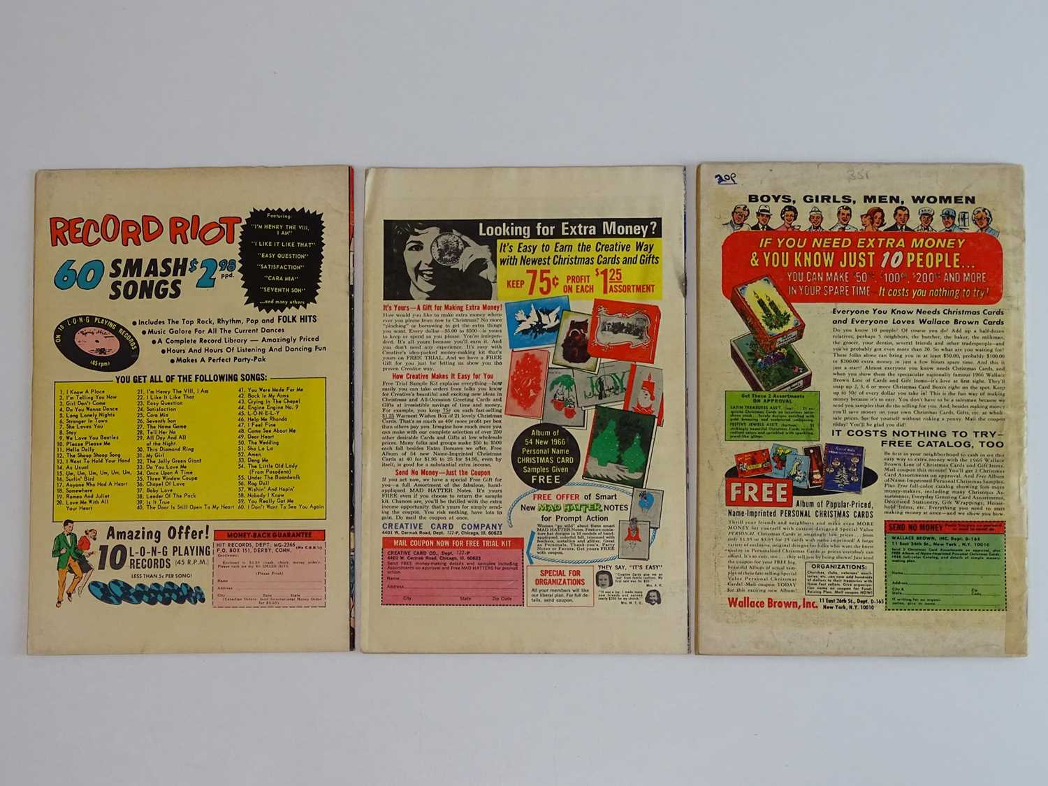 MODELLING WITH MILLIE #145 & 51 + MILLIE THE MODEL QUEEN-SIZE SPECIAL #5 - (3 in Lot) - (1965/66 - - Image 2 of 2