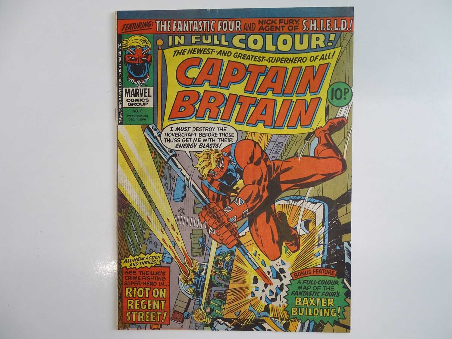 CAPTAIN BRITAIN #1 to 39 - (39 in Lot) - (1976/77 - BRITISH MARVEL) - Complete 39 issue run from # - Image 8 of 11