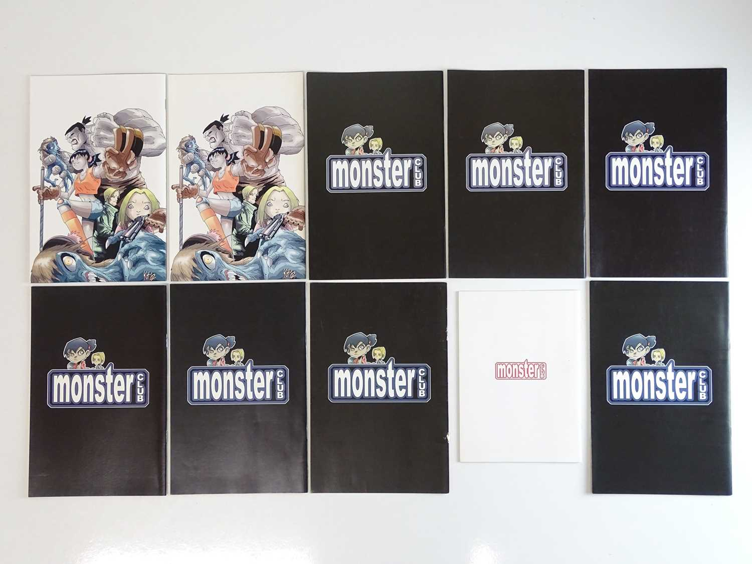 MONSTER CLUB LOT - (10 in Lot) - (2002 - DC) - First Printings - Includes MONSTER CLUB #0 - Origin - Image 2 of 5
