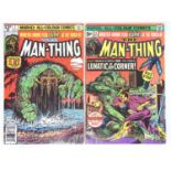 MAN-THING #1 & 21 - (2 in Lot) - (1975/79 MARVEL) - Includes First appearance The Scavenger + Second