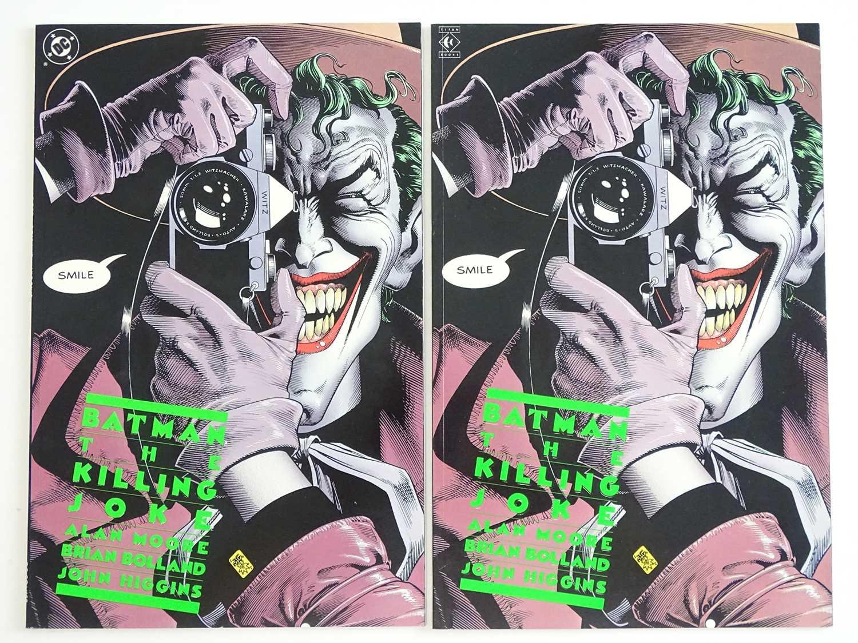 BATMAN: KILLING JOKE - (2 in Lot) - (1988 - DC) - KEY Modern Batman Book - First Printings - Both DC