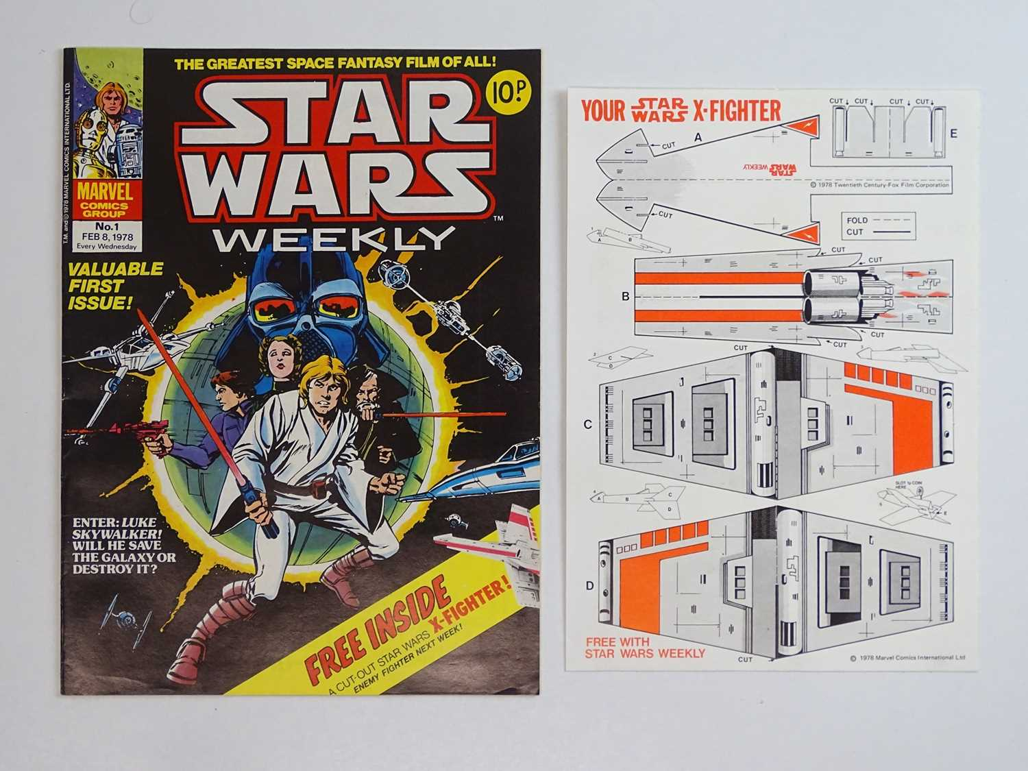 STAR WARS WEEKLY #1 to 165 - (165 in Lot) (1978/83 - BRITISH MARVEL) - Complete 165 issue run - Image 2 of 3