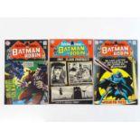 DETECTIVE COMICS: BATMAN #386, 391, 398 - (3 in Lot) - (1969/70 - DC - UK Cover Price) - Includes