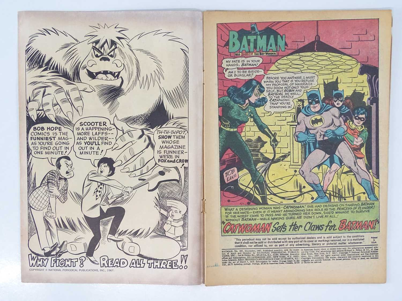 BATMAN #197 - (1967 - DC - Uk Cover Price) - Classic Batman, Batgirl, Catwoman Cover - Fourth Silver - Image 3 of 9
