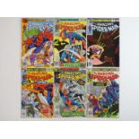 AMAZING SPIDER-MAN #186, 187, 188, 189, 190 and 191 - (6 in Lot) - (1978/79 - MARVEL) - Includes
