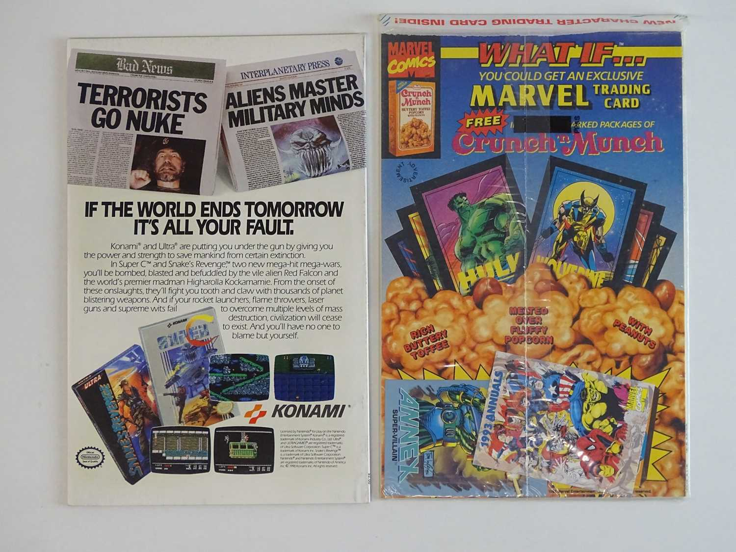 AMAZING SPIDER-MAN ANNUAL #24 & 27 - (1990/93 - MARVEL) - First appearance of Annex + Ant-Man - Image 2 of 2