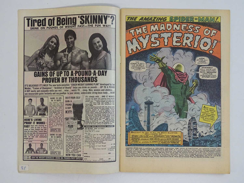 AMAZING SPIDER-MAN #66 (1968 - MARVEL) - Spider-Man battles Mysterio. + Green Goblin cameo - John - Image 3 of 9