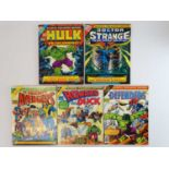 MARVEL TREASURY EDITIONS LOT - (5 in Lot) - (1975/78 - MARVEL - UK Price Variant) - Includes #5 -