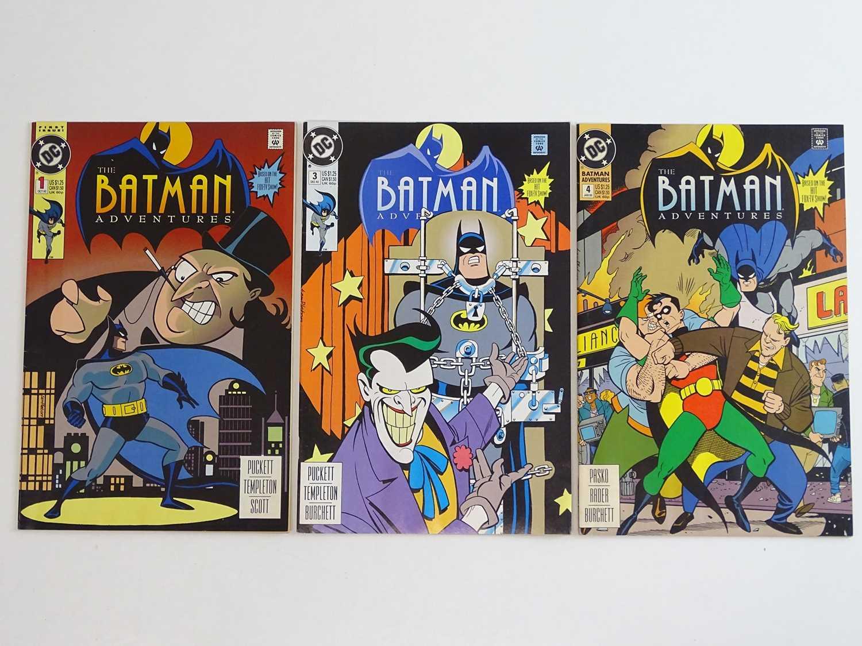 BATMAN ADVENTURES #1, 3, 4 - (3 in Lot) - (1992/93 - DC) - Penguin, Joker & Robin appearances - Ty