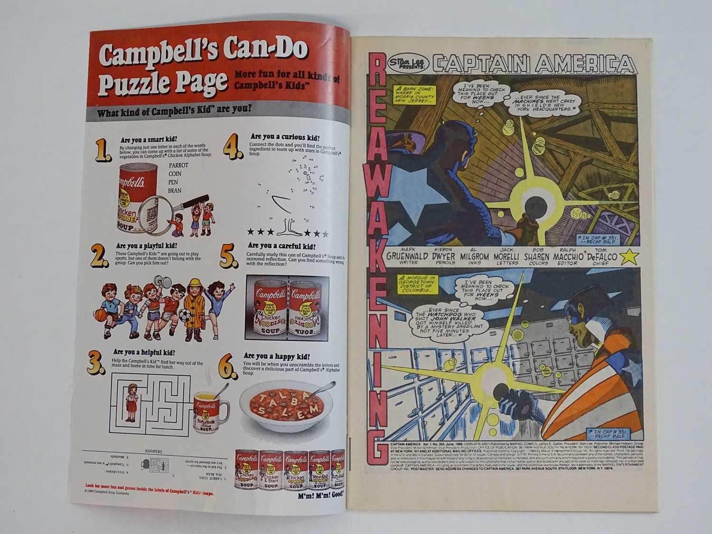 CAPTAIN AMERICA #354 - (1989 - MARVEL) - HOT KEY Modern Book - First appearance of John Walker as US - Image 3 of 9