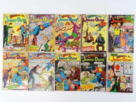 SUPERMAN'S PAL: JIMMY OLSEN #107, 109, 111, 116, 117, 118, 119, 120, 121, 122 - (10 in Lot) - (