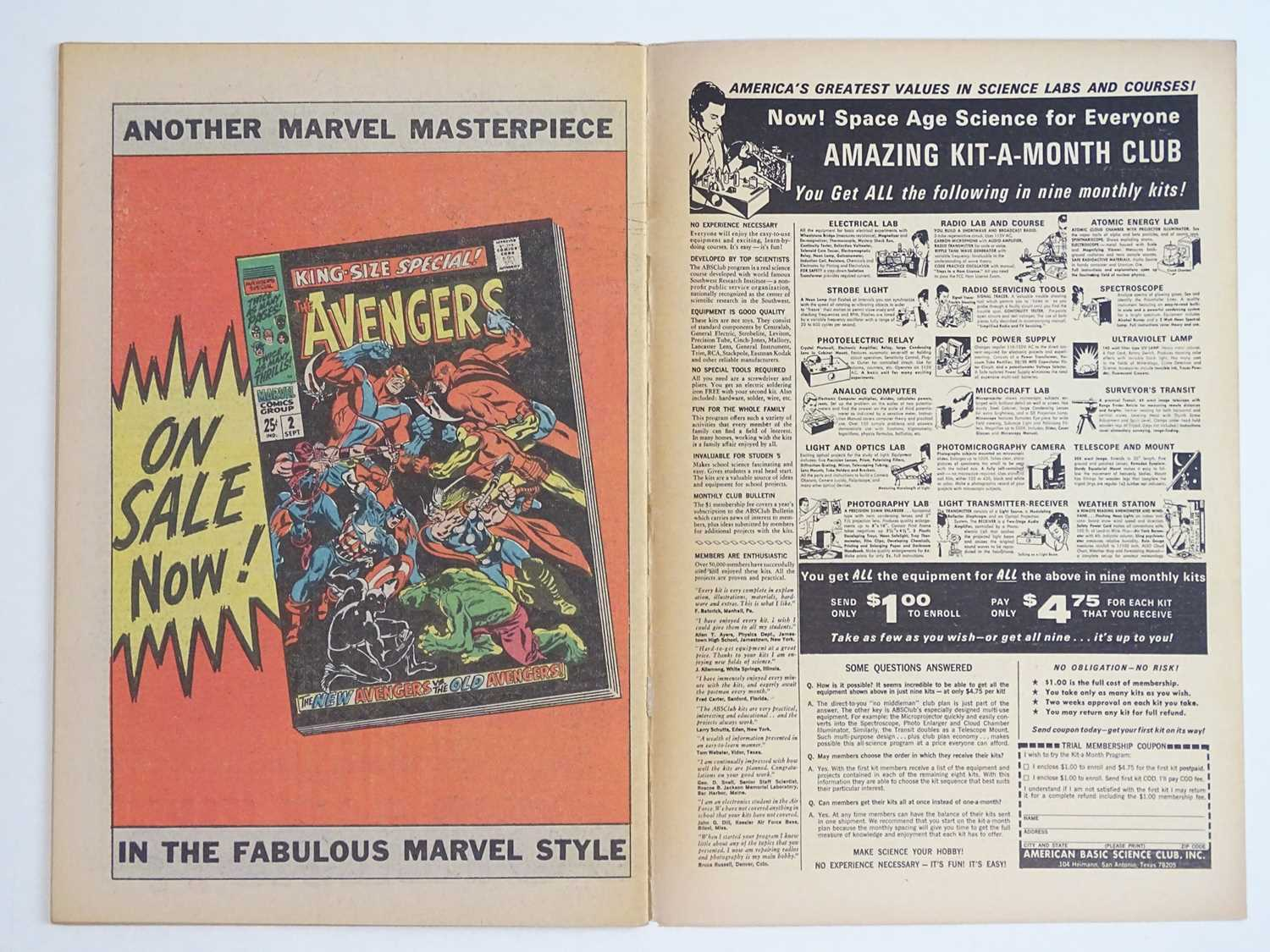 NICK FURY: AGENT OF SHIELD #5 - (1968 - MARVEL - UK Cover Price) - Classic Cover - Jim Steranko - Image 4 of 9
