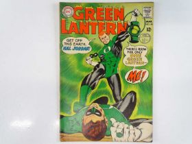 GREEN LANTERN #59 - (1968 - DC - UK Cover Price) - Classic DC Cover + KEY Book - First appearance of