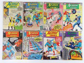 ACTION COMICS: SUPERMAN #315, 324, 336, 341, 342, 344, 346, 356 - (8 in Lot) - (1964/67 - DC - UK