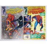 AMAZING SPIDER-MAN # 258 & 259 (Group of 2) - (1984 - MARVEL) - Spider-Man's black costume
