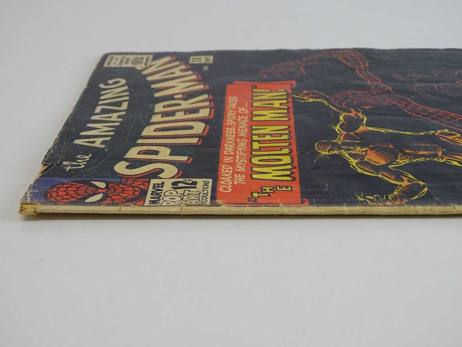 AMAZING SPIDER-MAN #28 - (1965 - MARVEL) - Origin and First appearance of Molten Man + Peter - Image 8 of 9