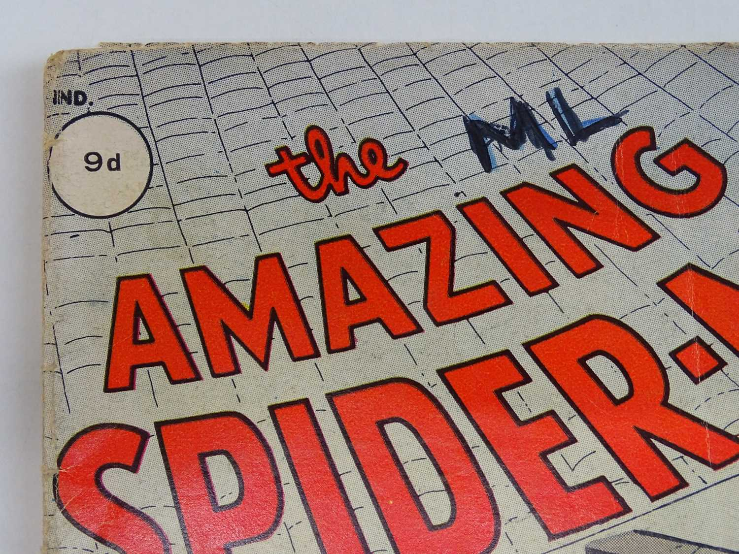 AMAZING SPIDER-MAN #1 - (1963 - MARVEL - UK Price Variant) - First appearance of Spider-Man un his - Image 2 of 27