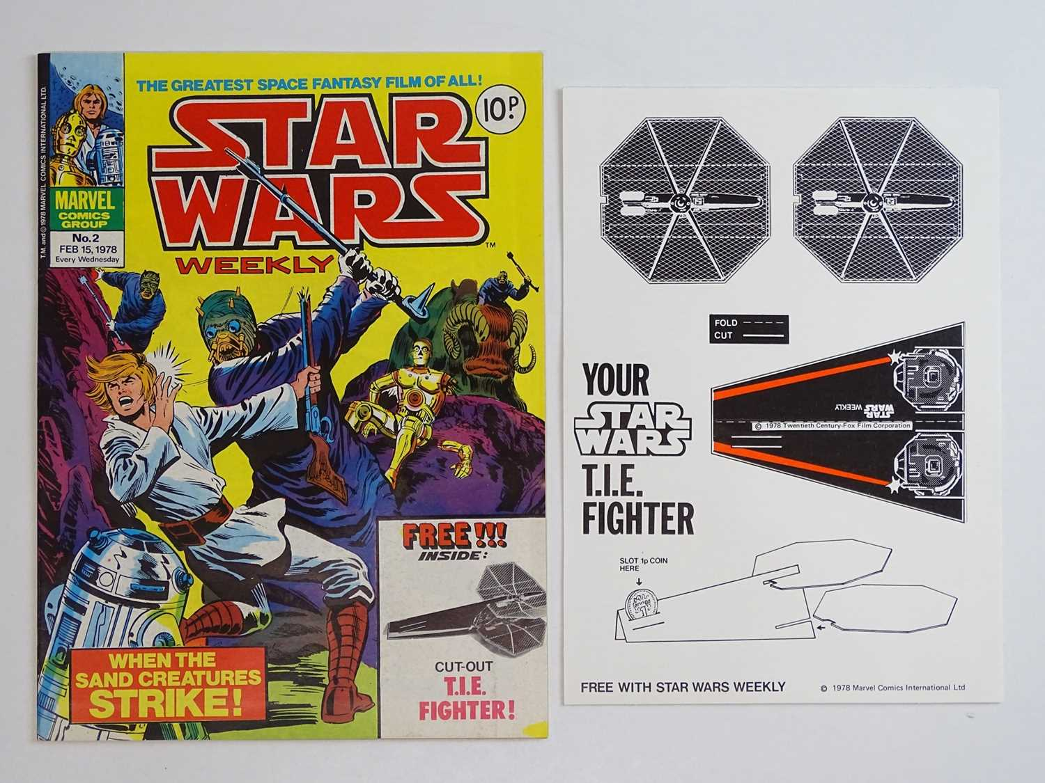 STAR WARS WEEKLY #1 to 165 - (165 in Lot) (1978/83 - BRITISH MARVEL) - Complete 165 issue run - Image 3 of 3