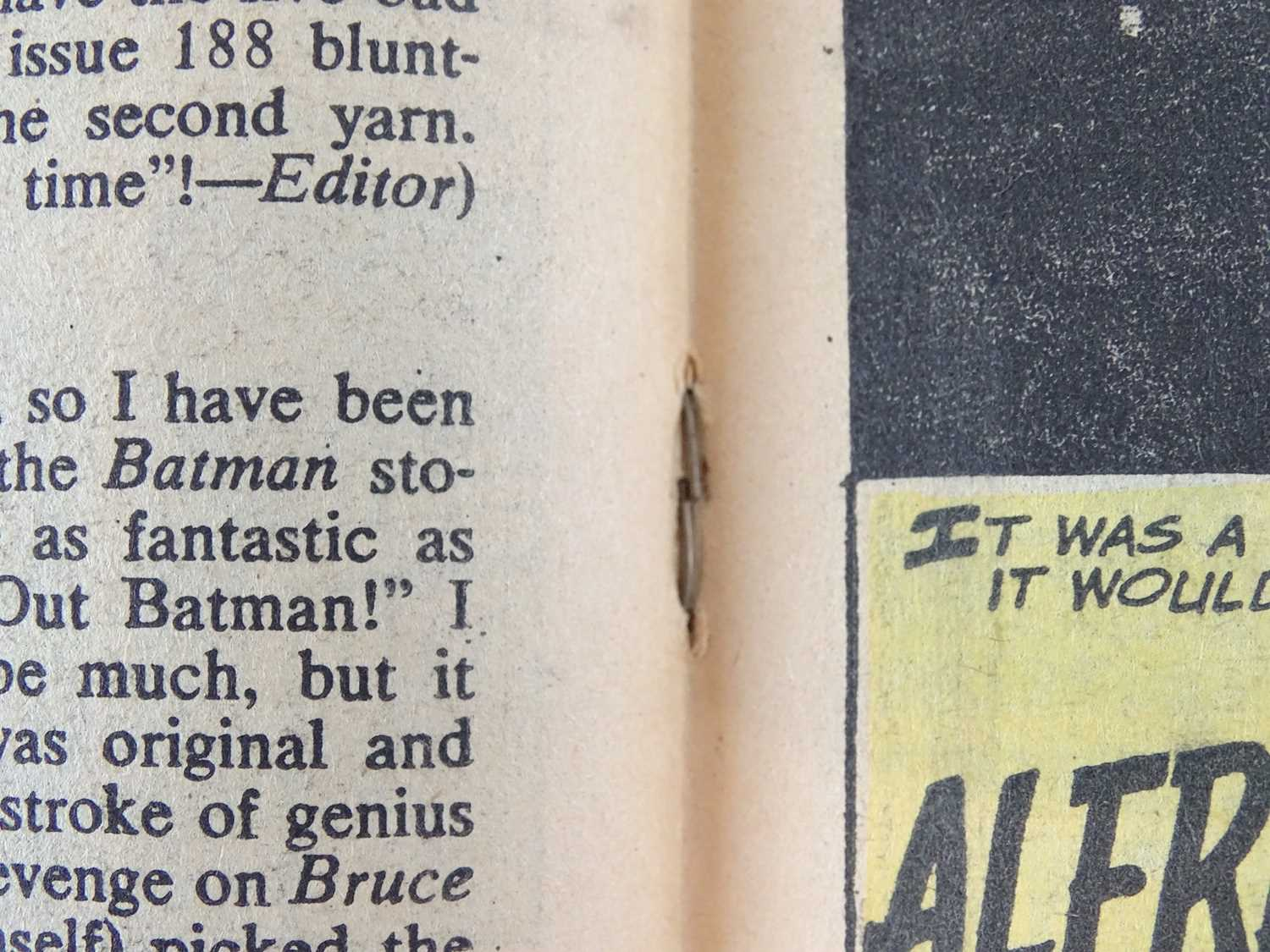 BATMAN #191 - (1967 - DC - UK Cover Price) - Joker and Penguin appearances in this BAT-AUCTION issue - Image 6 of 9