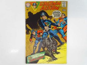 CAPTAIN ACTION #1 - (1968 - DC - UK Cover Price) - Origin and First DC comic book appearance of