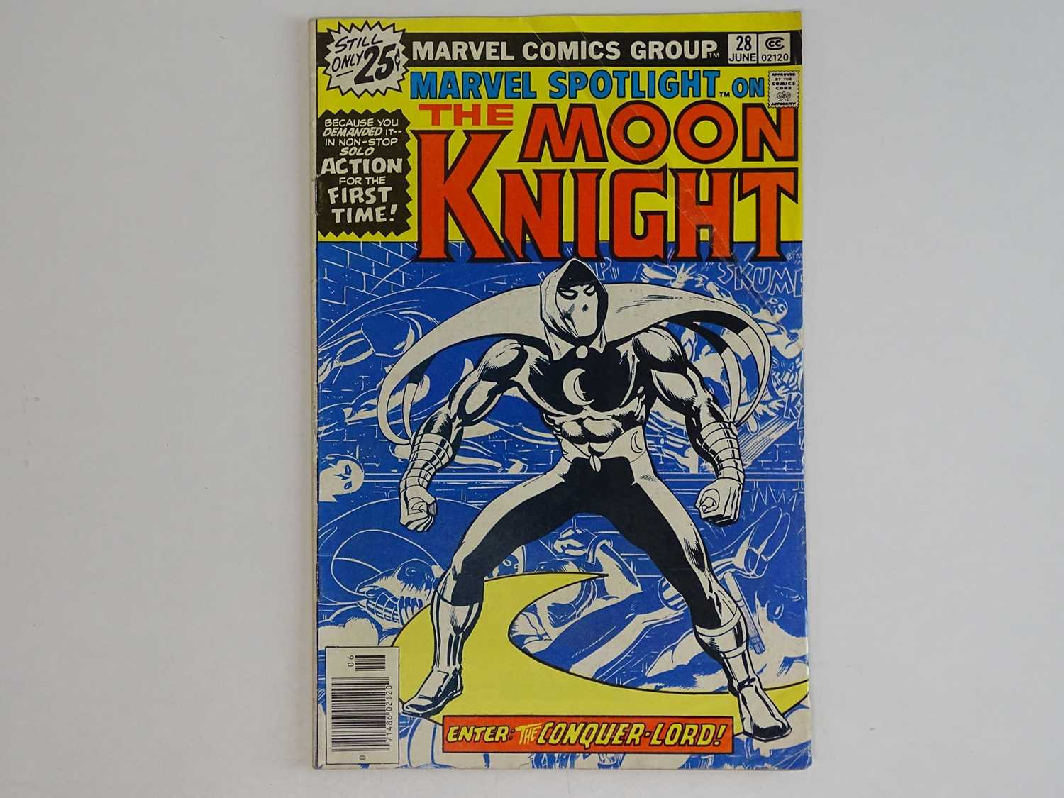 MARVEL SPOTLIGHT #28 - (1976 - MARVEL) - Moon Knight's First solo story + First time he appears as a