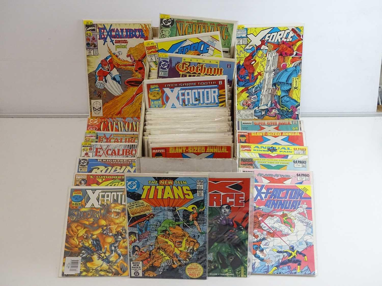 EXCALIBUR LUCKY DIP JOB LOT 180+ COMICS - Includes MARVEL, DC, VALIANT, IMAGE, ATLAS & Others -