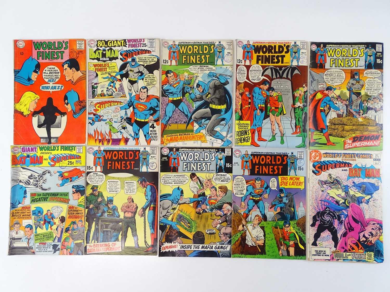 WORLD'S FINEST: STARRING BATMAN & SUPERMAN #176, 179, 182, 184, 187, 188, 193, 194, 195, 293 - (10