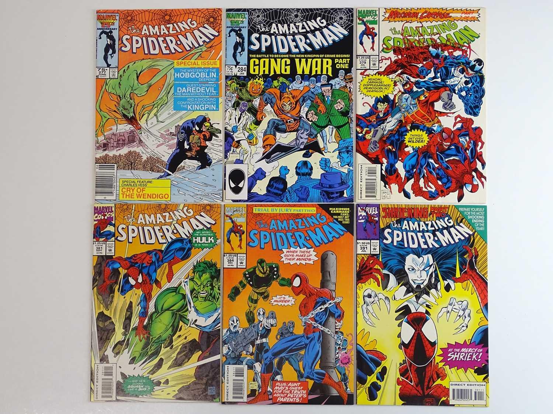 AMAZING SPIDER-MAN #277, 284, 379, 381, 384, 391 - (6 in Lot) - (1986/94 - MARVEL) - Includes Venom,