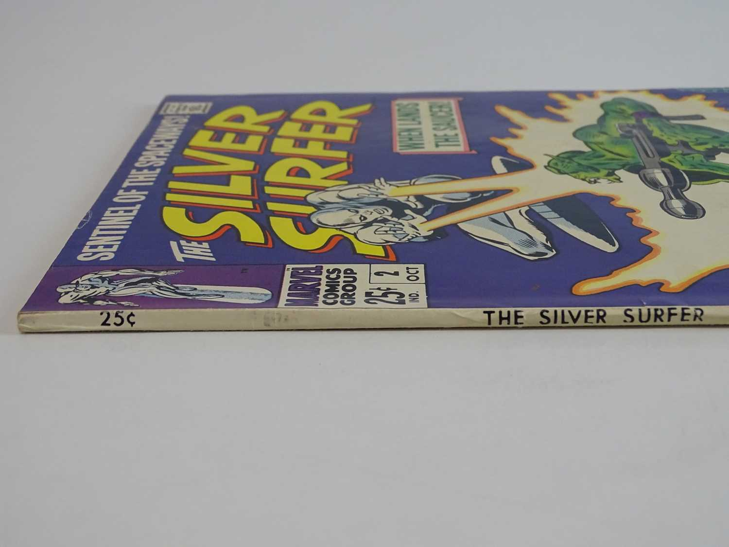 SILVER SURFER #2 - (1968 - MARVEL) - First appearance of the Brotherhood of Badoon + backup story - Image 7 of 8