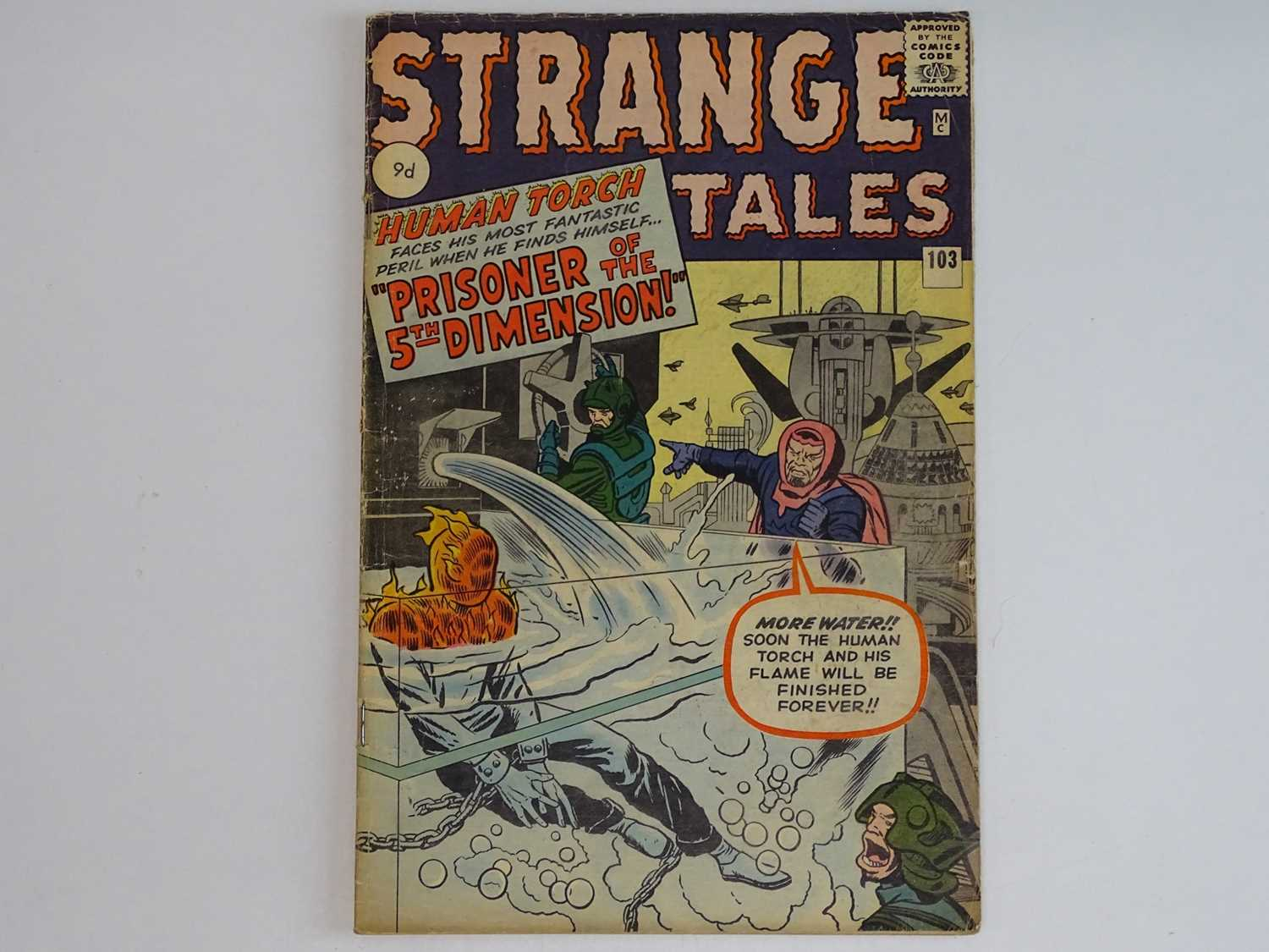 STRANGE TALES: HUMAN TORCH #103 - (1962 - MARVEL - UK Price Variant) First appearance Zemu + Third