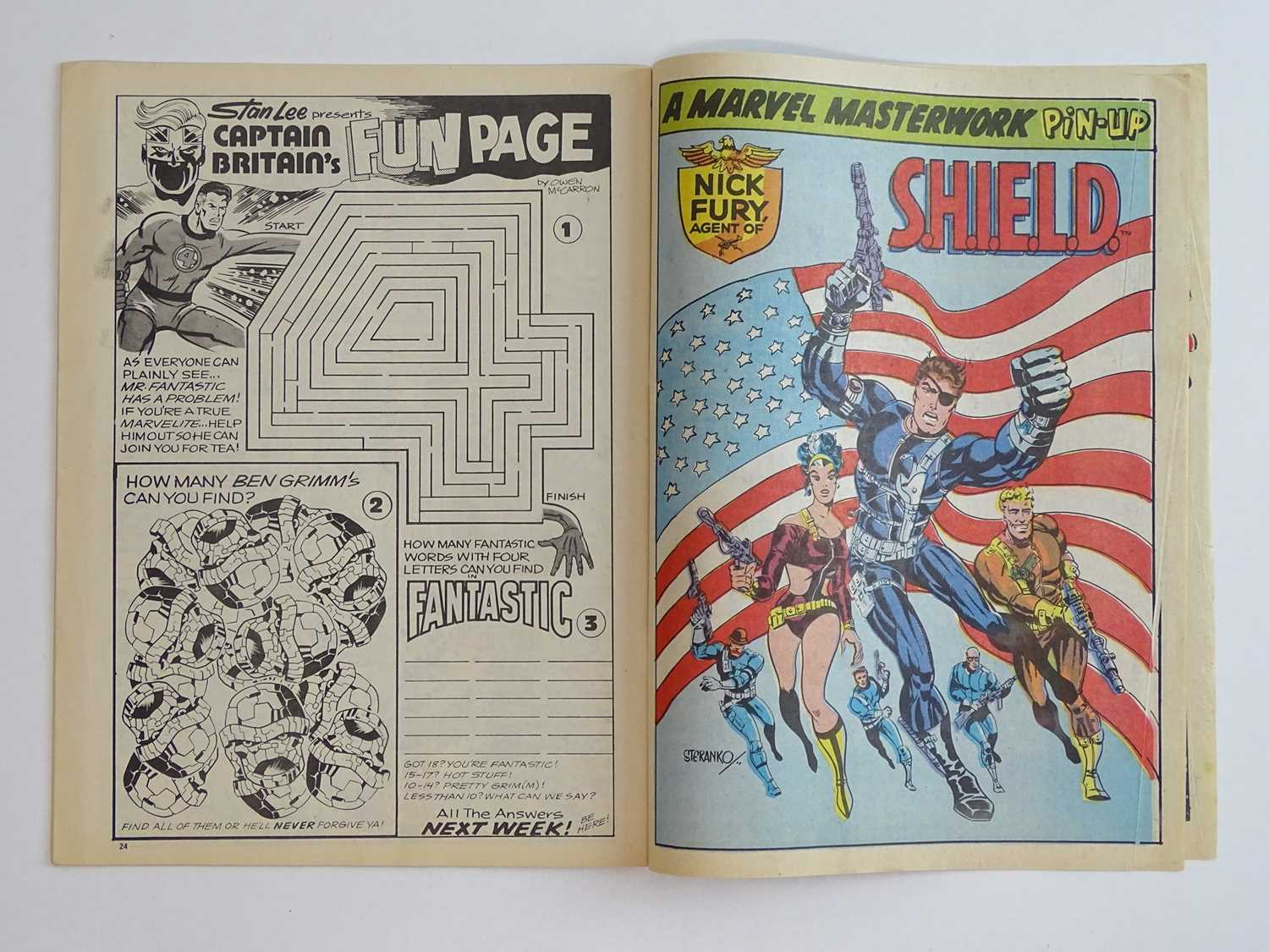 CAPTAIN BRITAIN #1 - (1976 - BRITISH MARVEL) - Origin and First appearance of Captain Britain - Image 6 of 12