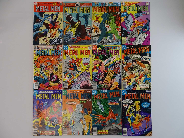 METAL MEN #41, 45, 47, 48, 49, 50, 51, 52, 53, 54, 55, 56 - (12 in Lot) - (1976/78 - DC - US Price &