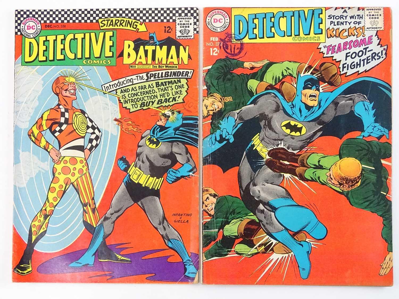 DETECTIVE COMICS: BATMAN #358 & 372 - (2 in Lot) - (1966/68 - DC - UK Cover Price) - Includes