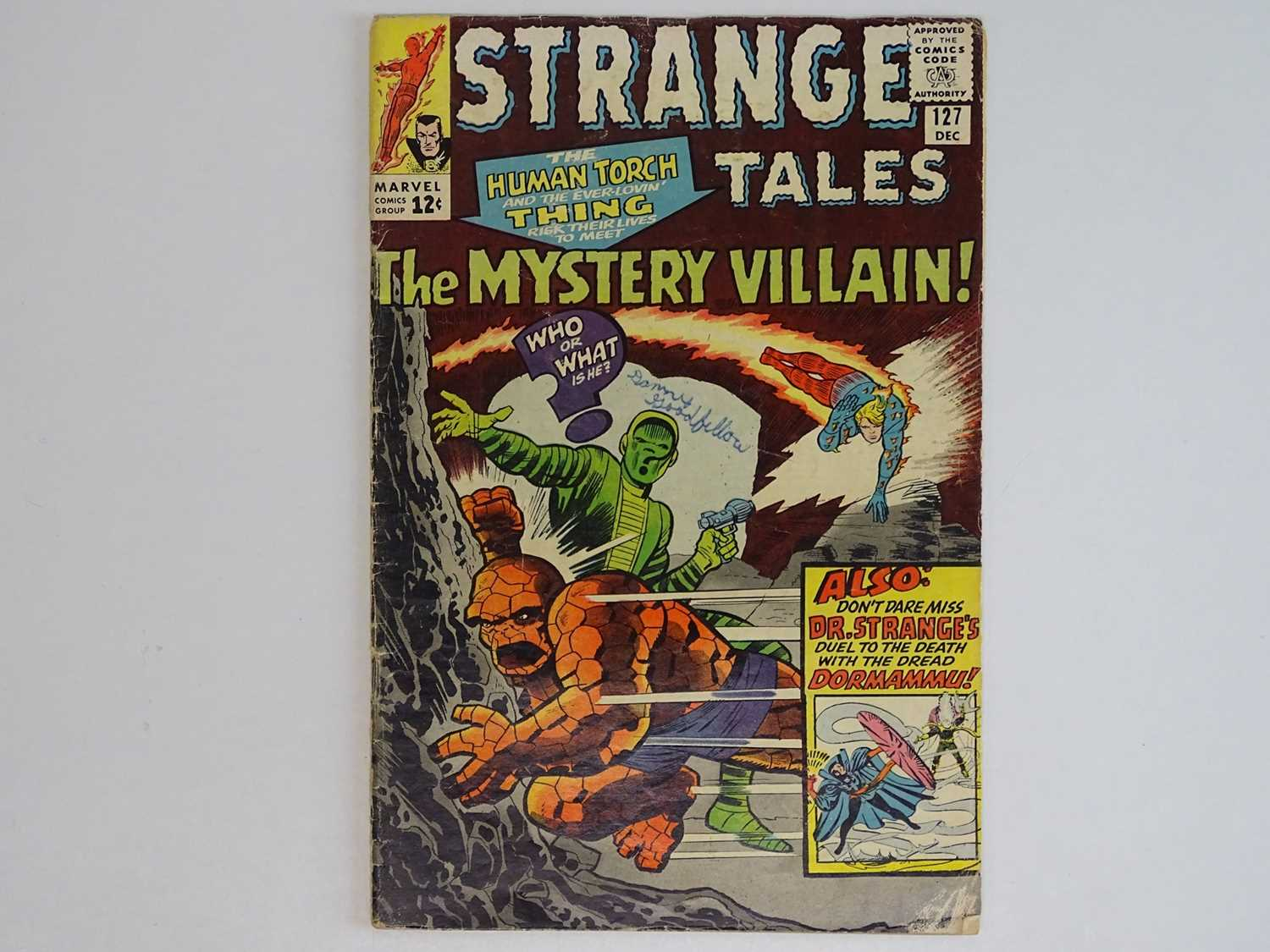 STRANGE TALES: HUMAN TORCH & DR. STRANGE #127 - (1964 - MARVEL) First appearance of the Eye of