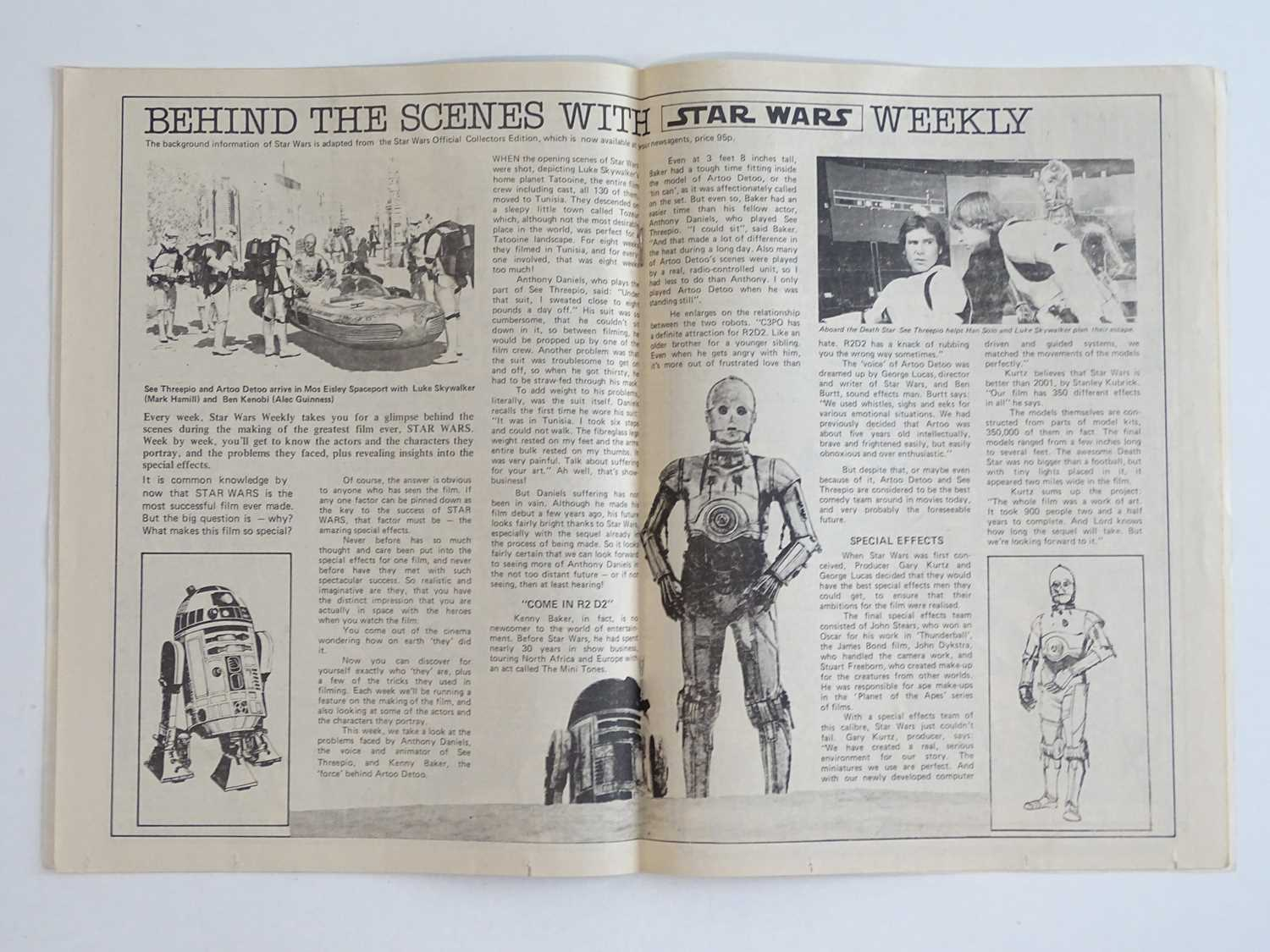 STAR WARS WEEKLY #1 - (1978 - BRITISH MARVEL) - Part one of the official comics adaptation of the - Image 5 of 10