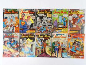 SUPERMAN'S PAL: JIMMY OLSEN #124, 125, 126, 127, 128, 129, 130, 131, 132, 133 - (10 in Lot) - (