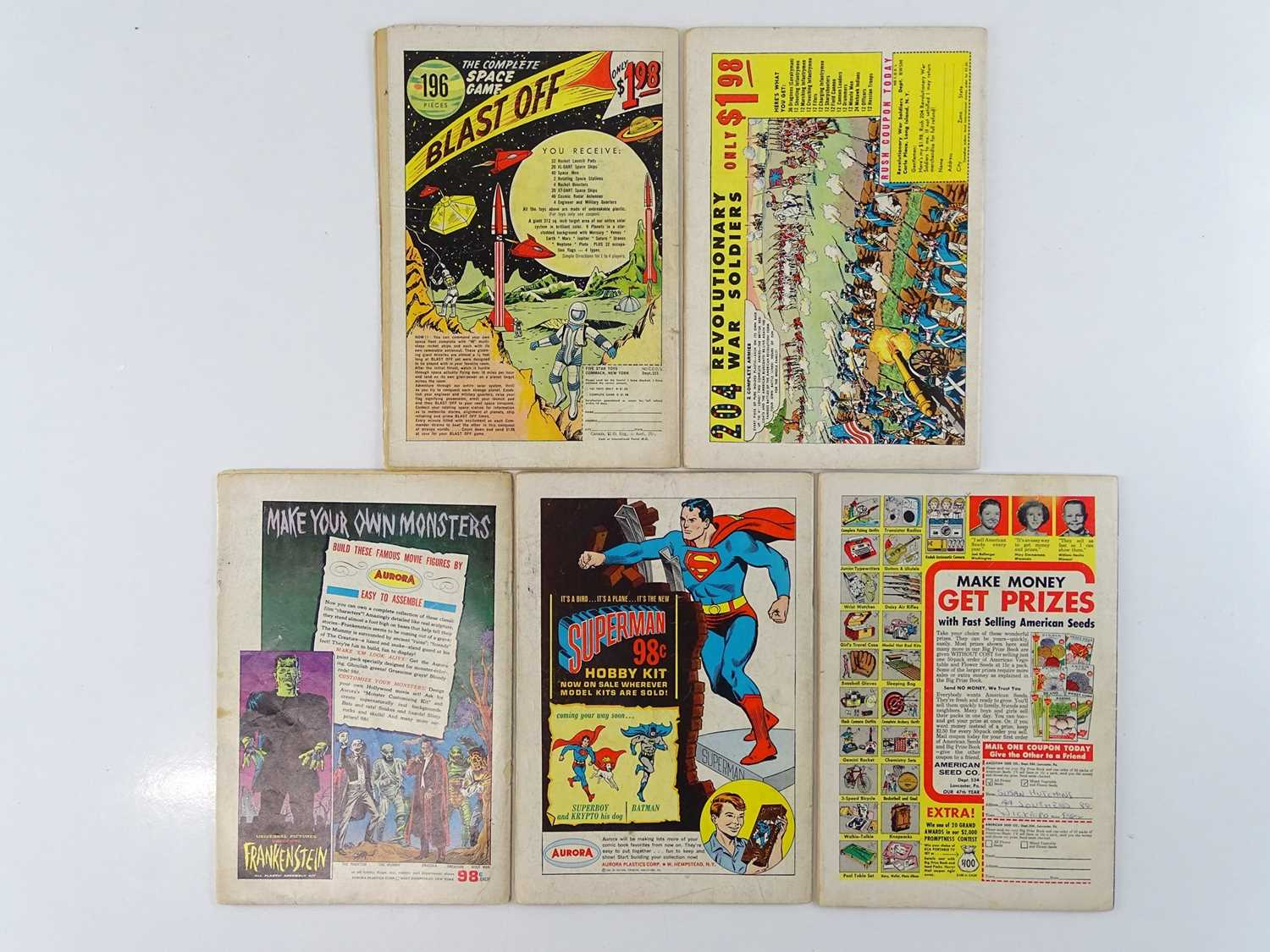 BLACKHAWK #187, 189, 190, 203, 206 - (5 in Lot) - (1963/65 - DC - UK Cover Price) - Includes - Image 2 of 2