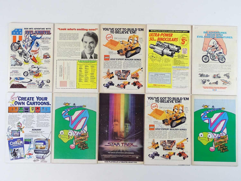 MARVEL COMICS LOT - (10 in Lot) - (MARVEL - UK Price Variant) - Includes ETERNALS #8 (1977) + - Image 2 of 2