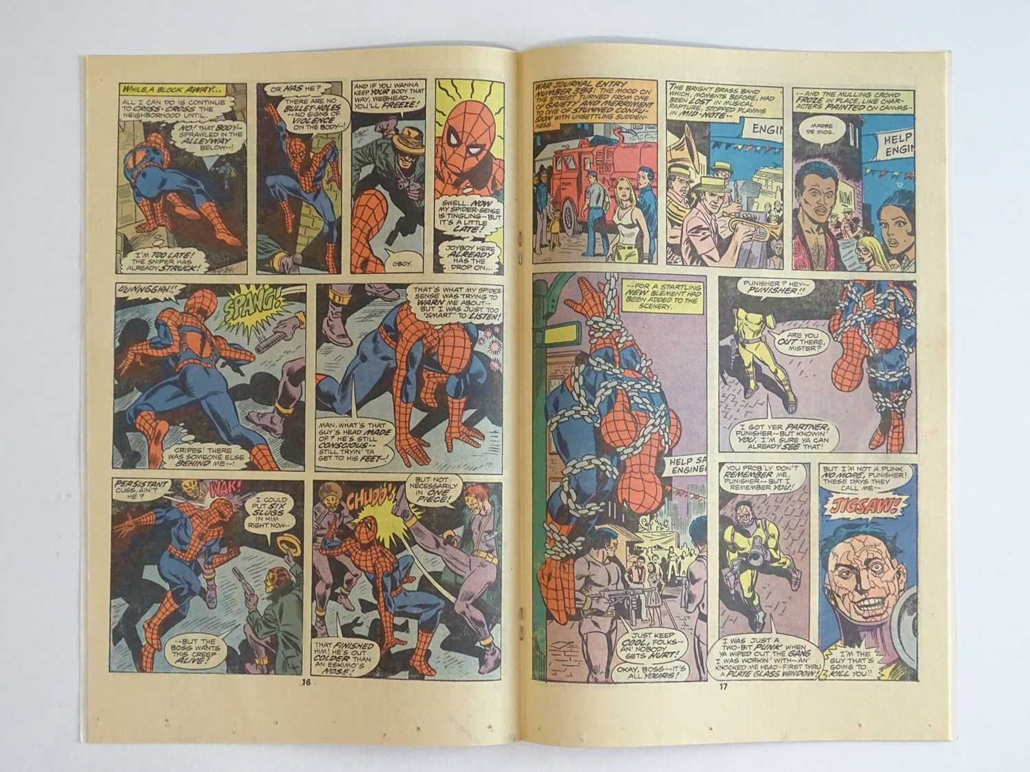 AMAZING SPIDER-MAN #162 - (1976 - MARVEL) - First full appearance of Jigsaw and Dr. Maria - Image 5 of 9