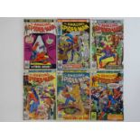 AMAZING SPIDER-MAN #164, 165, 166, 170, 173, 174 - (6 in Lot) - (1977 - MARVEL) - Includes