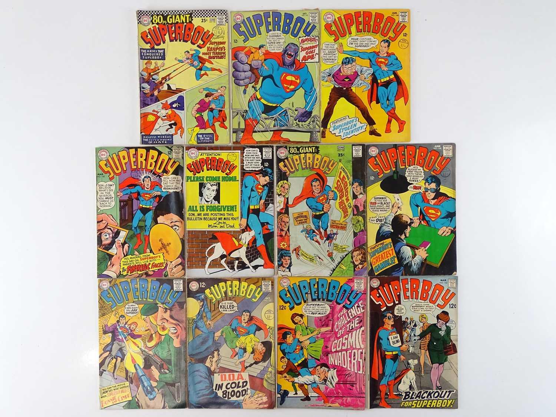 SUPERBOY #138, 142, 144, 145, 146, 147, 148, 149, 151, 153, 154 - (11 in Lot) - (1967/69 - DC - UK
