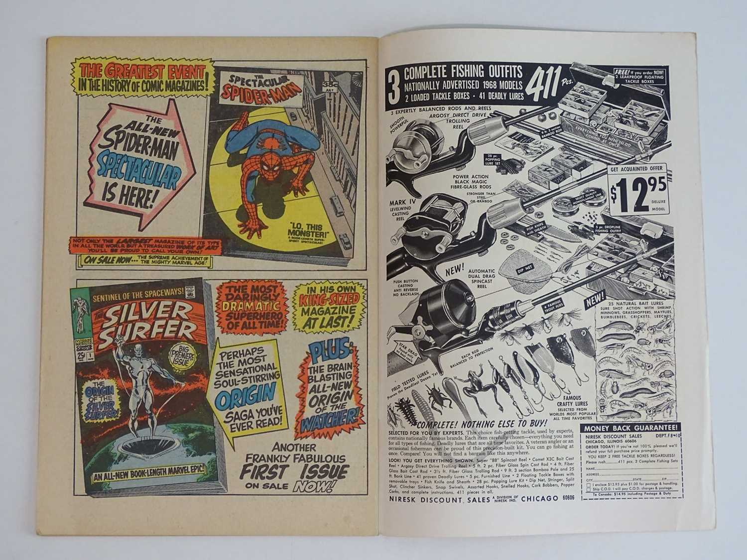AMAZING SPIDER-MAN #63 - (1968 - MARVEL - UK Cover Price) - The original Vulture (Adrian Toomes) and - Image 4 of 9
