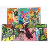 GREEN LANTERN #60, 61, 66, 67, 71, 73, 75 - (7 in Lot) - (1968/70 - DC - UK Cover Price) -