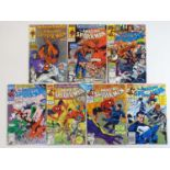 AMAZING SPIDER-MAN #321, 325, 331, 342, 343, 349, 355 - (7 in Lot) - (1989/91 - MARVEL) - Includes
