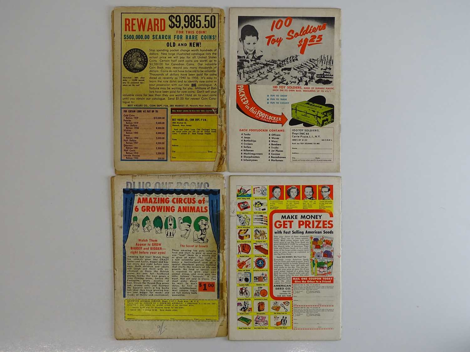 ATOM #1, 7, 11, 12 - (4 in Lot) - (1962/64 - DC - UK Cover Price) - Includes First appearance in own - Image 2 of 2