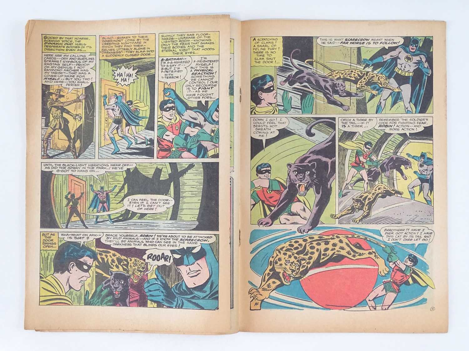BATMAN #189 - (1967 - DC - UK Cover Price) - KEY Book - First Silver Age appearance of the Scarecrow - Image 8 of 10