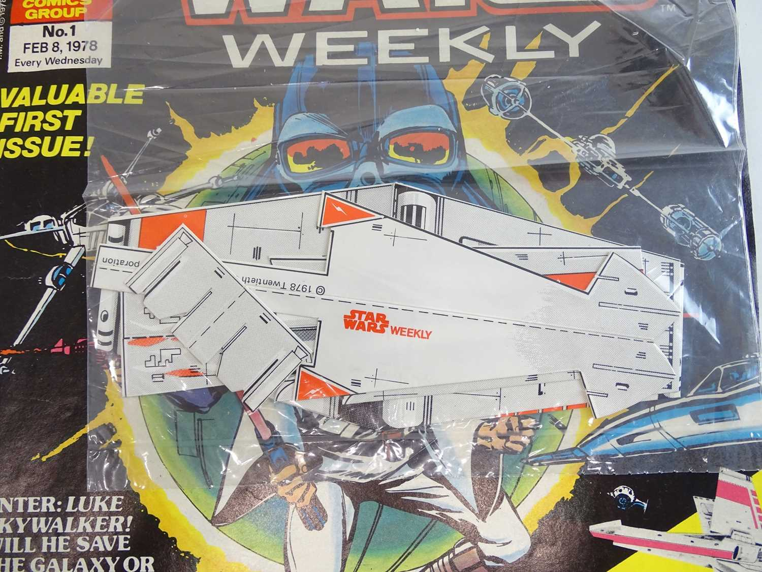 STAR WARS WEEKLY #1 - (1978 - BRITISH MARVEL) - Part one of the official comics adaptation of the - Image 10 of 10