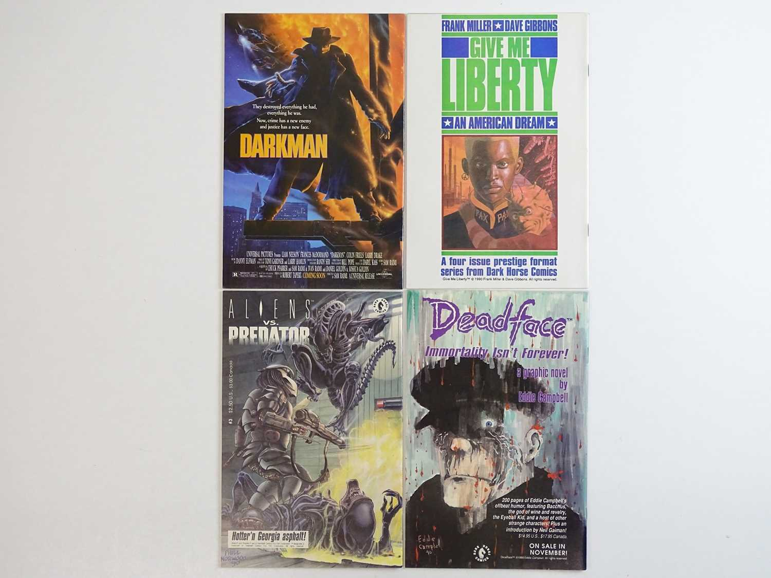 TERMINATOR #1, 2, 3, 4 - (4 in Lot) - (1990 - DARK HORSE) - ALL First Printings - Complete 4 x Issue - Image 2 of 2