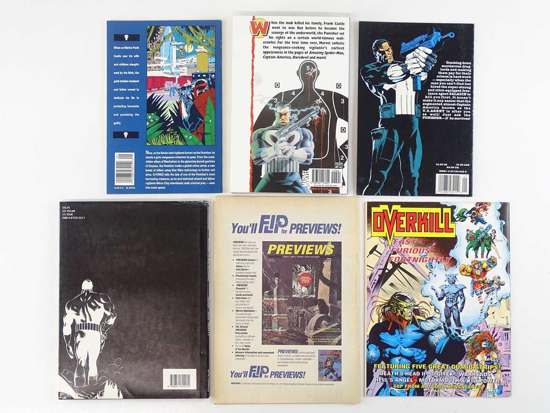 PUNISHER LOT - (6 in Lot) - (MARVEL) - Includes PUNISHER: G-FORCE (1992) + PUNISHER: NO ESCAPE ( - Image 2 of 2